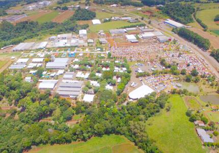 Fachada Itaipu Rural Show UND.32