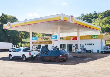 Fachada Posto de Combustível UND. 40