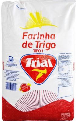 Farinha de Trigo Trial Tipo I - Saco 25 Kg