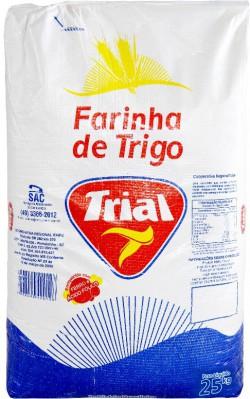 Farinha de Trigo Trial - Saco 25 Kg