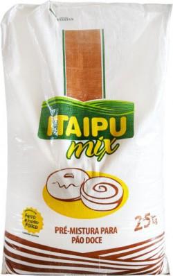Farinha de Trigo Itaipu Mix - Pão Doce - Saco 25 Kg