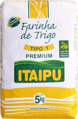 Farinha de trigo Itaipu Premium Tipo I - Fardo 25 Kg