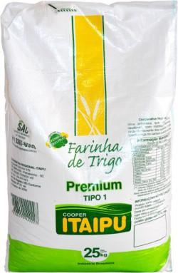 Farinha de trigo Itaipu Premium - Saco 25 Kg