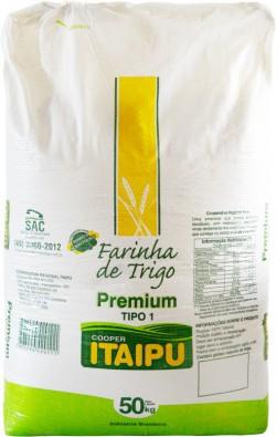 Farinha de trigo Itaipu Premium - Saco 50 Kg