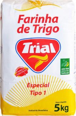 Farinha de Trigo Trial Especial Tipo I - Fardo 25 Kg