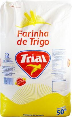 Farinha de Trigo Trial Industrial C. - Saco 50 Kg