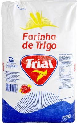 Farinha de Trigo Trial - Saco 50 Kg