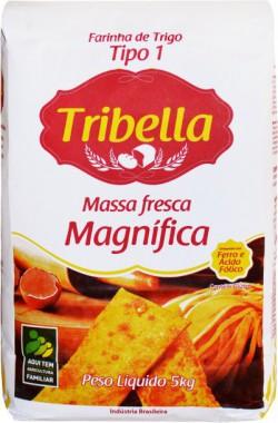 Farinha de Trigo Tribella Massa Fresca Magnífica - Fardo 25 Kg