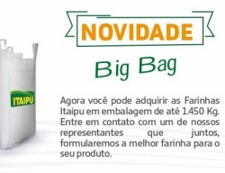 BIG BAG 1.450 QUILOS PERSONALIZÁVEL