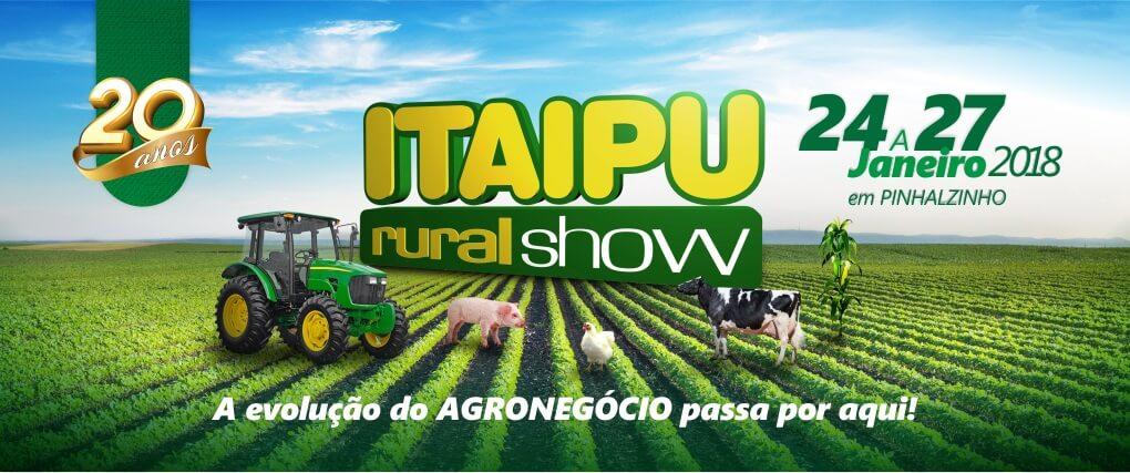 Vem aí o 20º Itaipu Rural Show, confira!